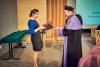 Wręczenie nominacji opiekunom pierwszych roczników - dr Małgorzata Augustyniak